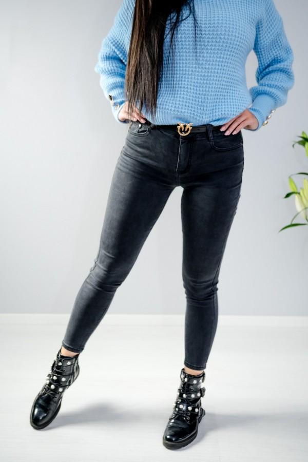 Spodnie jeans szare 5