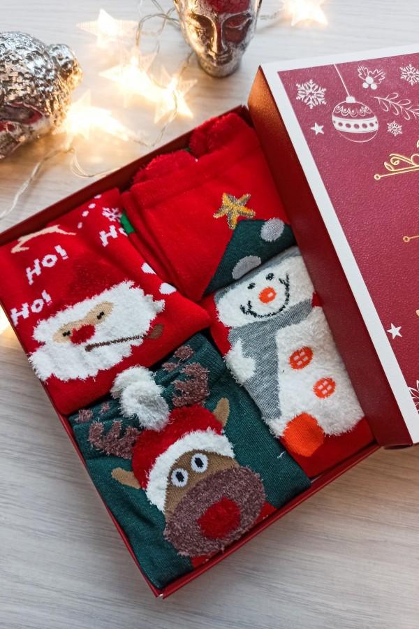 zestaw świąteczny prezentowy skarpetki