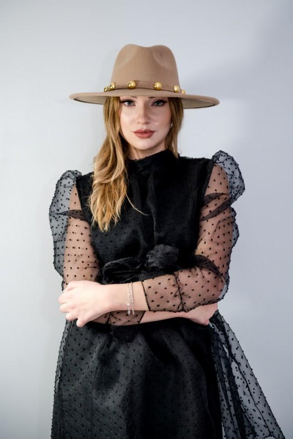 sukienka tiul czarna 7