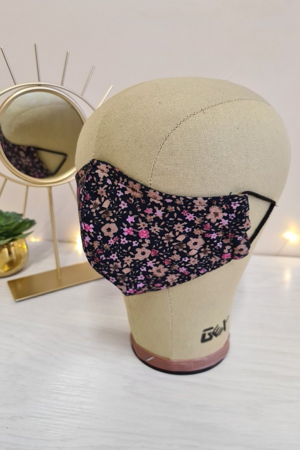 Maska drobne kwiatki