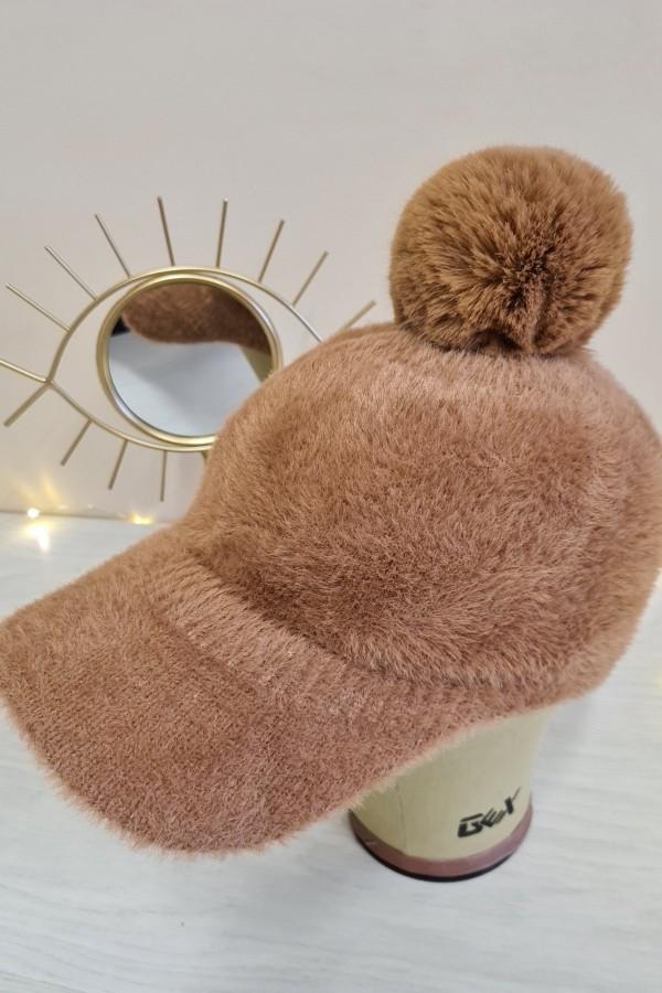 czapka z daszkiem camel 1