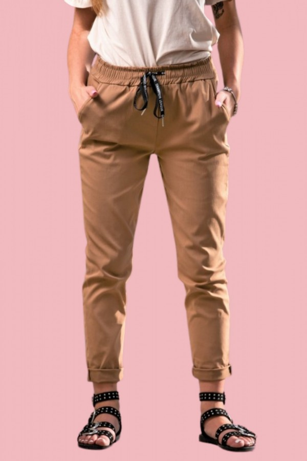 spodnie dres camel