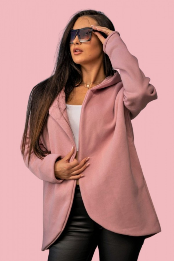 Bluza kurtka różowa