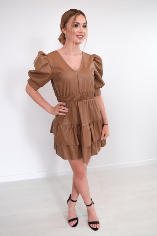 sukienka karmelowa 1