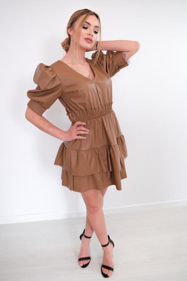 sukienka karmelowa 3