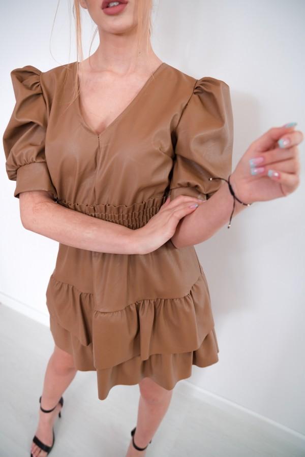 sukienka karmelowa 4