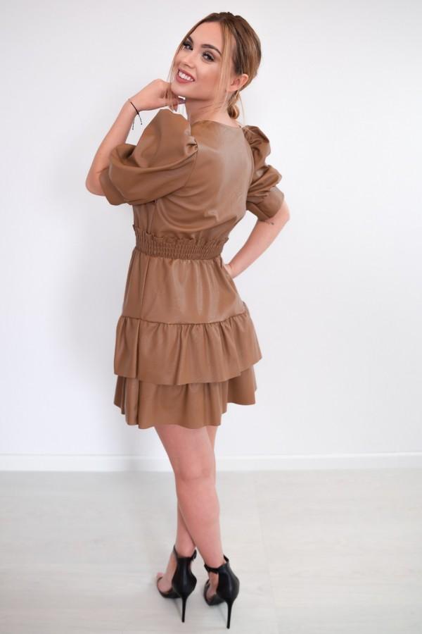 sukienka karmelowa 6