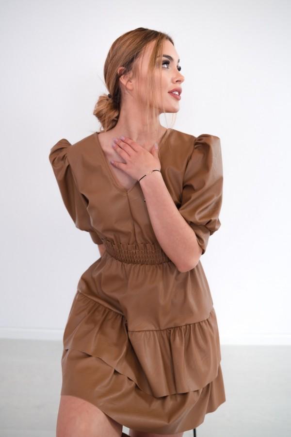 sukienka karmelowa 7