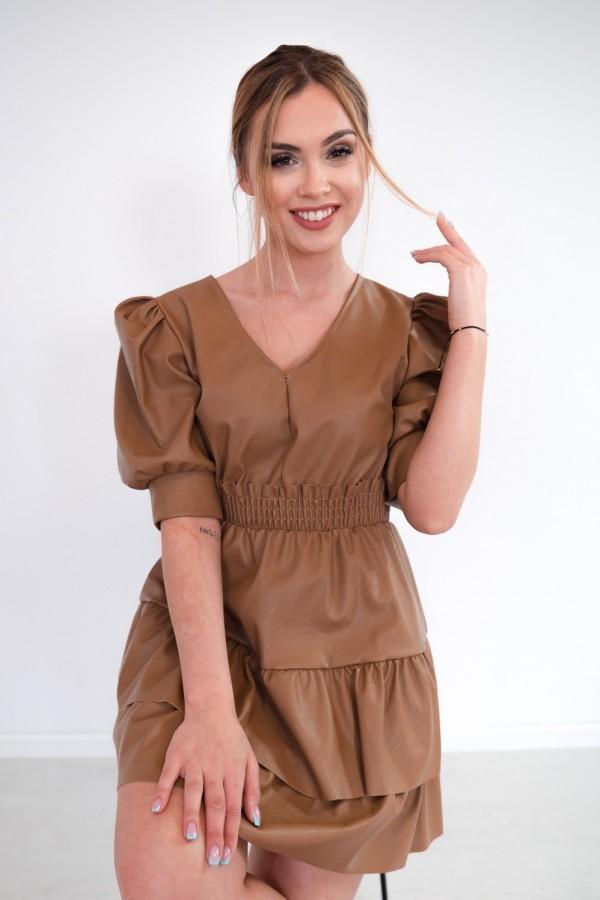 sukienka karmelowa 9