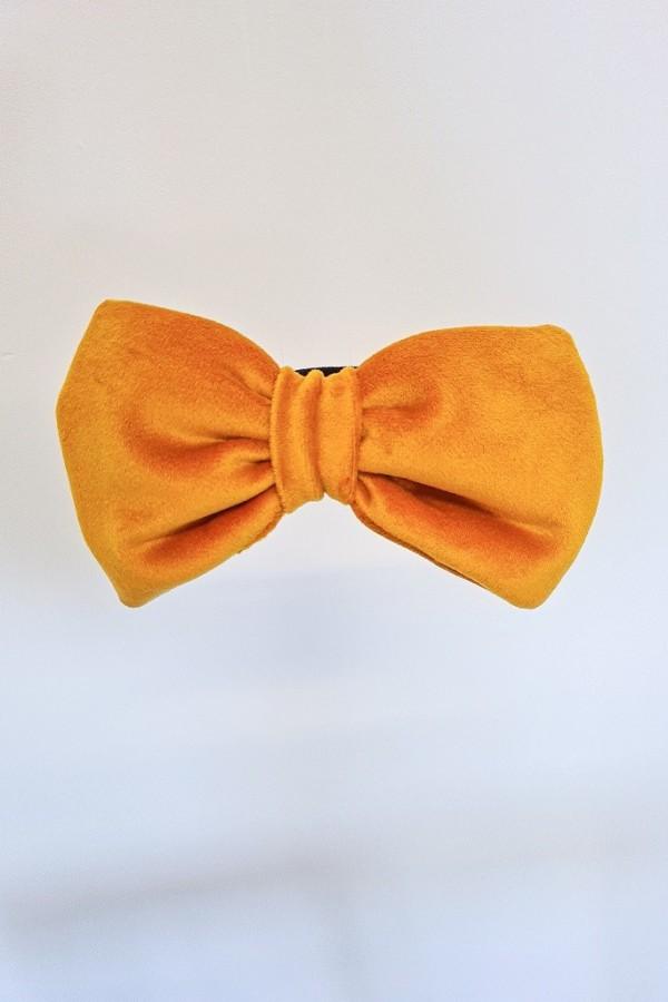 Gumka kokarda żółta 1