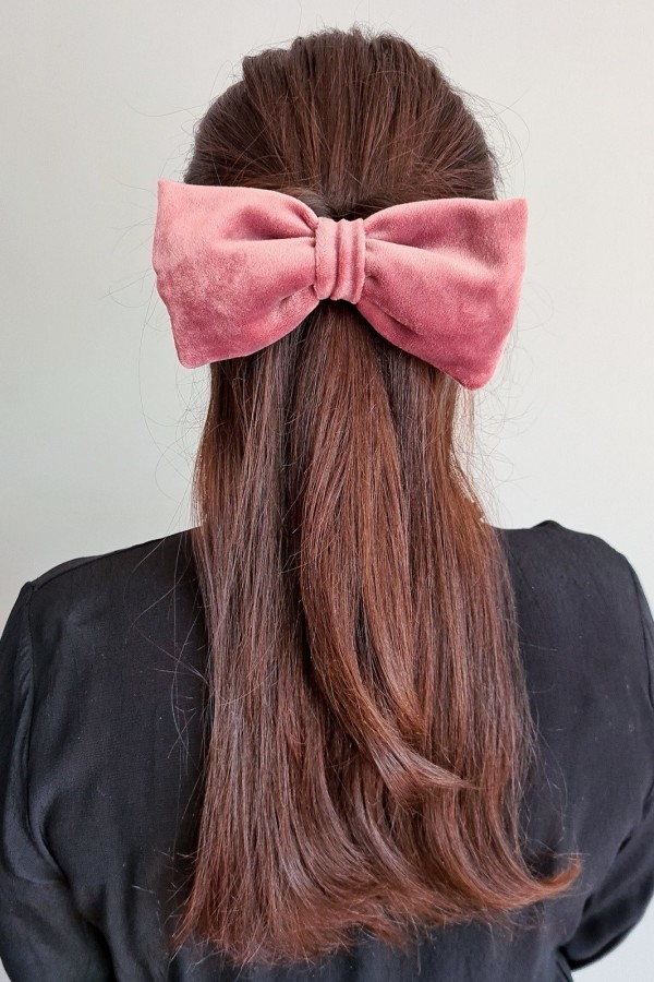 Gumka kokarda różowa
