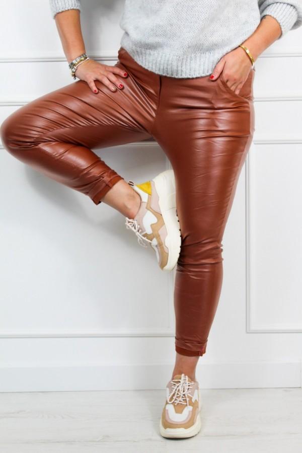 Spodnie woskowane rude Siren 1