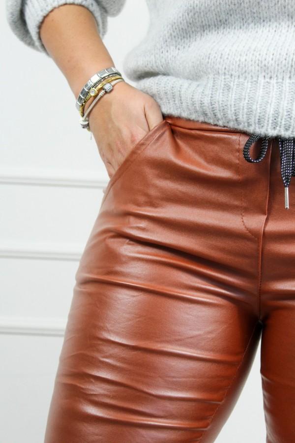 Spodnie woskowane rude Siren 2