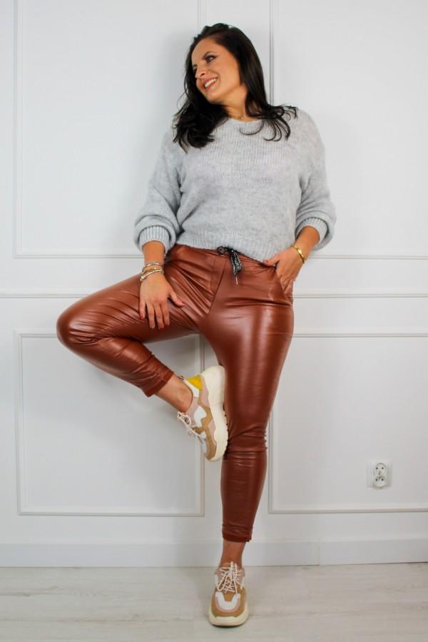 Spodnie woskowane rude Siren 3